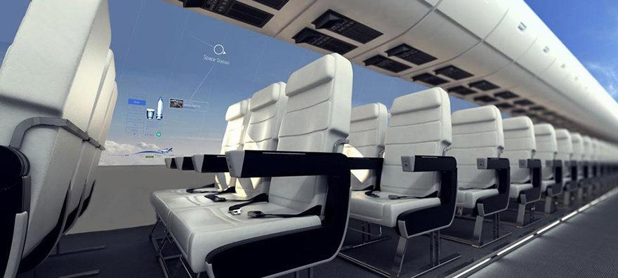 Այս նոր ինքնաթիռները  շատ շուտով հնարավորություն կտան բոլոր ուղևորներին հիանալ դրսի տեսարաններով։