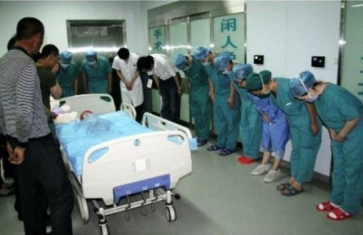 Բժիշկները խոնարհվում են այս հիվանդ փոքրիկի առջև թե ինչու ․փոքրիկը իր կյանքով փրկում է ուրիշ կյանքեր։