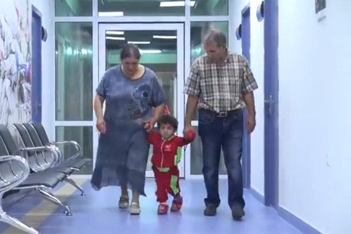 Էրեբունի ԲԿ-ում ինսուլտից փրկել են 2.5 տարեկան երեխայի կյանքը. (Տեսանյութ)