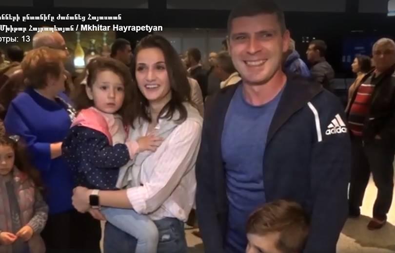 ԱՄՆ-ից ևս մեկ հայ ընտանիք վերադարձավ Հայաստան (տեսանյութ) ․