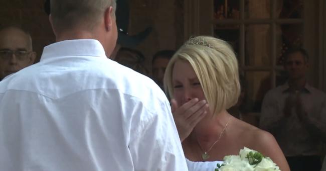 Հուզիչ պատմություն. Աղջիկն ամուսնացավ հաշմանդամի հետ, սակայն հարսանիքի օրը նրանց մեծ անակնկալ էր սպասվում․