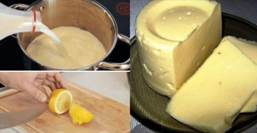 Հրաշալի բաղադրատոմս․ Տնական պանիր 3 ժամում․