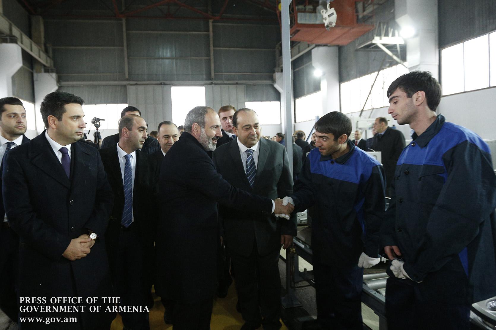 Հայաստանում բացվել է գործարան, որը կարտադրի լվացքի մեքենա, սառնարան, հեռուստացույց և այլը․(լուսանկարներ)