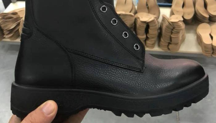 Այսպիսին է լինելու մեր զինվորի համար նոր և որակյալ կոշիկը։