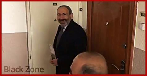 Վարչապետը բնակիչներից մեկի դուռը թակում է հարցնում են՝ ով ա: Հիմա ո՞նց ասեմ՝ ով ա. վարչապետ