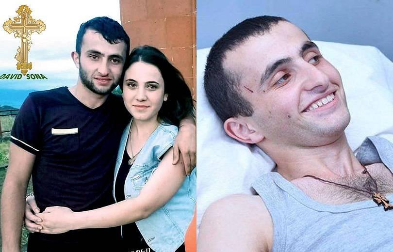Ապրիլյան պատերազմում ոտքերը կորցրած Դավիթի եւ Սոնայի հարսանիքն է լինելու հունվարի 26-ին