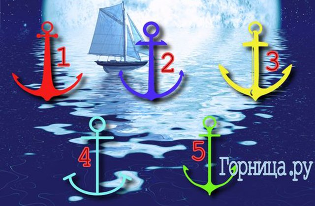 Թեստ. Դեպի հաջողություն ընկած ձեր ճանապարհին կան բազմաթիվ խոչընդոտներ, ընտրելով խարիսխներից մեկը, կիմանաք որոնք են դրանք.