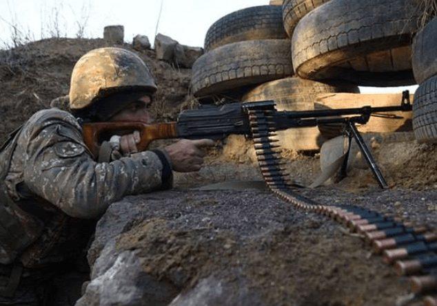 Ադրբեջանական զինուժը կրակ է բացել հայկական դիրքերի ուղղությամբ։ Պատասխան կրակով հակառակորդը լռեցվել է.