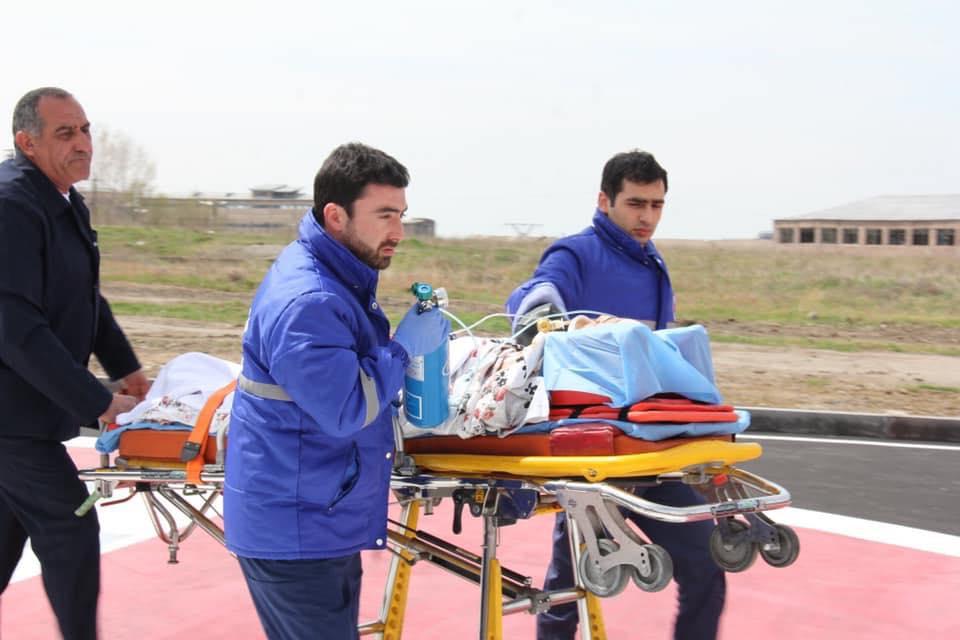 Արսեն Թորոսյան. Առաջին ծանր վնասվածքներ ստացած փոքրիկը 1 ժամում սահմանամերձ բնակավայրից տեղափոխվեց Երևան