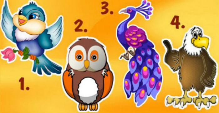 Թեստ. Որոնք են ձեր բնավորության դրական ու բացասական կողմերը. Ընտրեք թռչուններից մեկը և պարզեք