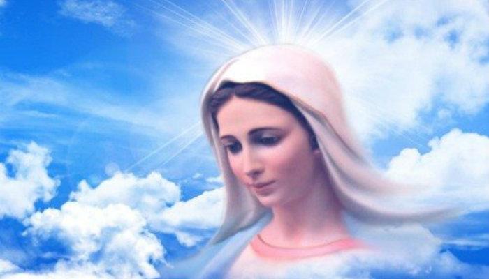 Աղոթք. Աստվածածի՛ն, Քրիստոսի մայր և Հոր Միածնի ծնող աղաչում եմ քեզ, Լույսի մայր, ինձ համար մեղքի թողություն խնդրիր