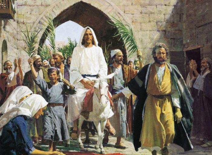 Այսօր՝ ապրիլի 14-ին, Հայաստանյայց Առաքելական Ս. Եկեղեցին տոնախմբում է Տեր Հիսուս Քրիստոսի Երուսաղեմ հաղթական մուտքի հիշատակը` Ծաղկազարդը: