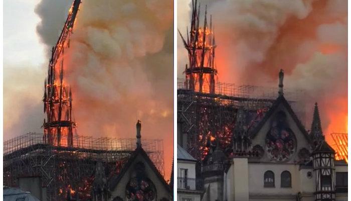Փարիզի Աստվածամոր տաճարի հիմնական շինությունը փրկվել է. Փրկվել են նաև Հիսուսի պսակն ու բոլոր սուրբ մասունքները