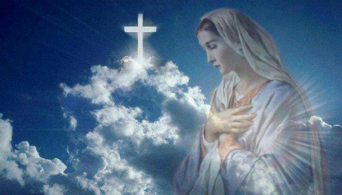 Հղի կնոջ աղոթքն Աստվածածնին. Ո՜վ Աստծո փառավորյալ Մայր, օգնության հասիր ինձ իմ բոլոր տկարությունների ու վտանգների պահին