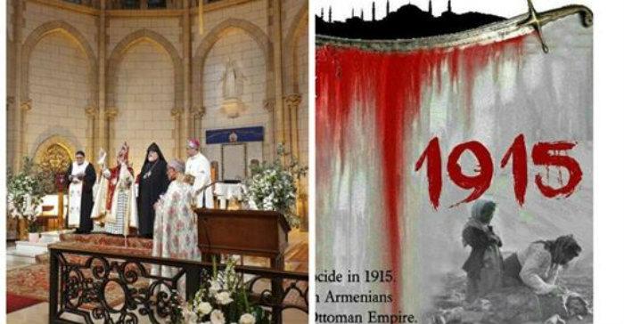 Պատարագ՝ նվիրված Հայոց ցեղասպանության զոհերի հիշատակին. Այն մատուցվել է Փարիզում