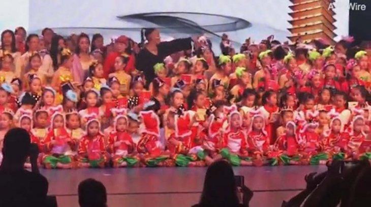 Չինաստանում փլուզվել է երեխաներով լի բեմը, մեկ երեխա մահացել է