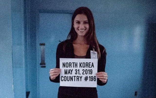21-ամյա ամերիկուհին եղել է աշխարհի բոլոր 196 երկրներում