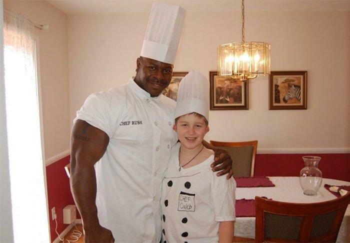 Անդրե Ռաշ՝ Սպիտակ տան շեֆ-խոհարարը