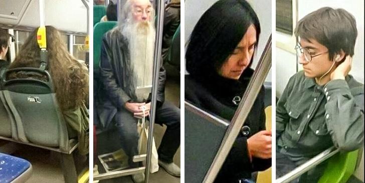 Մարդիկ, ովքեր քաջալերում էին մետրոյում