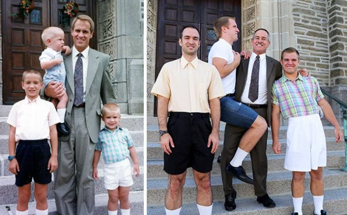 Իսկ դուք փորձե՞լ եք նմանակել ձեր փոքր ժամանակվա ընտանեկան լուսանկարը