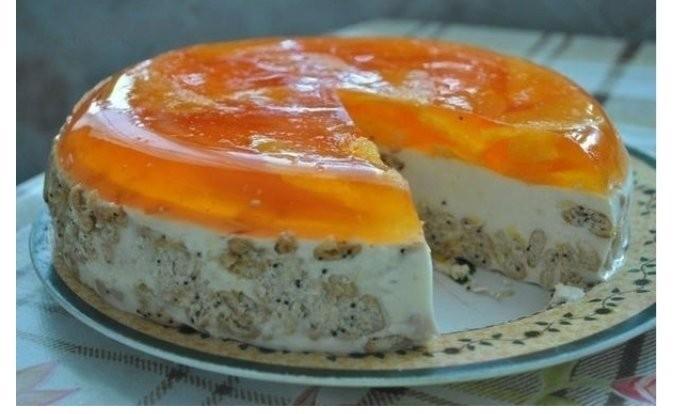 Տորթ <<Նարինջ>>,  պատրաստվում  է առանց  թխելու  և  ինչպես միշտ իդեալական  է ստացվում