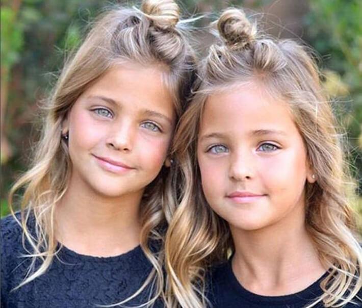 Աշխարհի ամենագեղեցիկ զույգ աղջիկները
