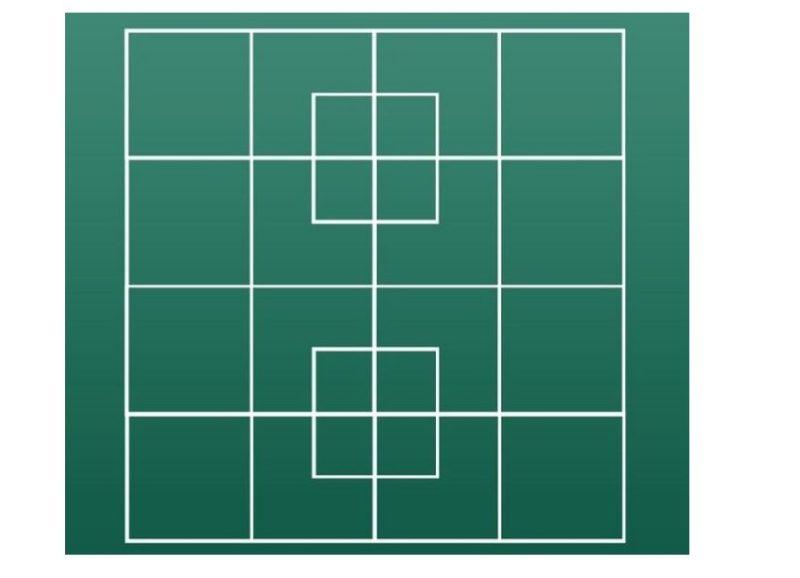 Քանի՞ քառակուսի կա այստեղ,  քչերն են տալիս  ճիշտ պատասխան,  իսկ դուք կարո՞ղ եք