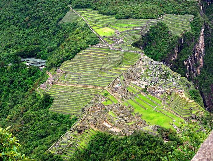 Հին հնդկական ցեղերի՝ ինկերի քաղաքը՝ Մաչու Պիչուն