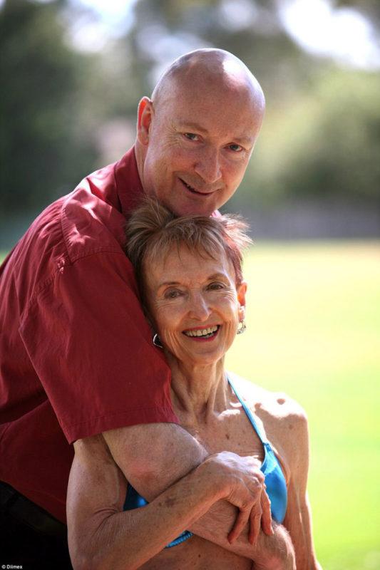 Նա 74, եւ նրա ամուսինը 49 տարեկան է՝ նրանք հպարտանում են իրենցով