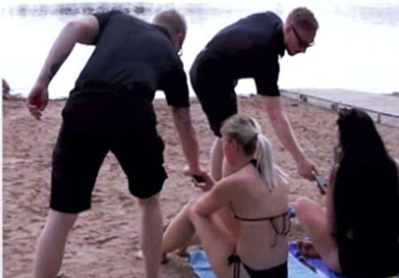 Երկու փրկարարներ լողափում հանգստացողներից վերցրել են բջջային հեռախոսները
