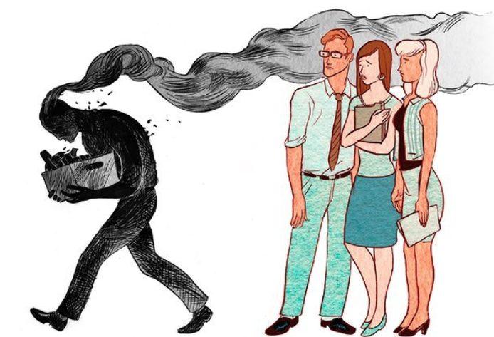 Կյանքի նկարազարդումներ, որոնք պատմում են ժամանակակից աշխարհի խնդիրների մասին