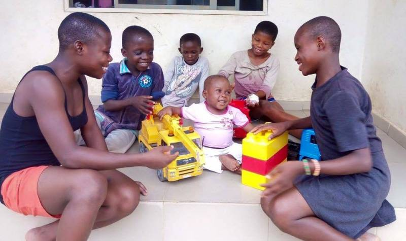 Փրկված երեխան Նիգերիայից. այս կինը շատ մեծ սիրտ ունի