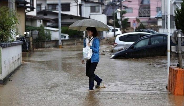 Ճապոնիայի իշխանությունները երեք քաղաք են տարհանում սողանքների և հեղեղումների սպառնալիքի պատճառով