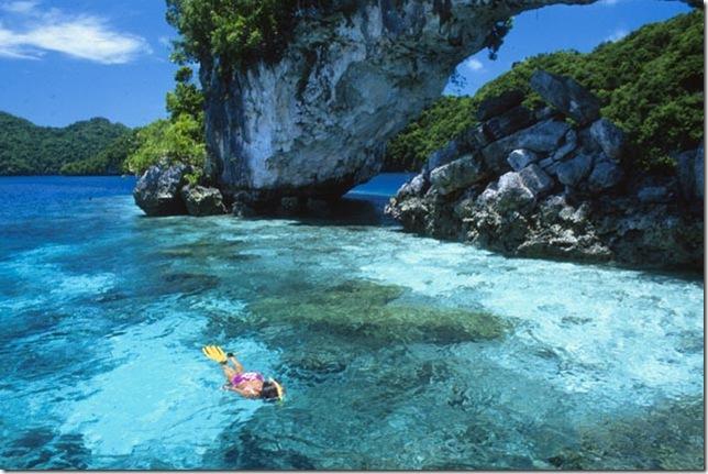 Գեղեցիկ լեռնային կղզիներ Պալաույում. տեսնելուց հետո  կուզենաք հայտնվել այստեղ