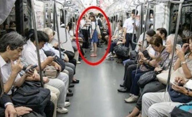 Այս աղջիկը տեղը զիջել է տարեց մարդուն, մեկ րոպե անց նա արեց այն, ինչ ոչ ոք չէր սպասում