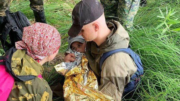 Եղանակը օգնել է ողջ մնալ անտառում երեք տարեկան կորած տղային