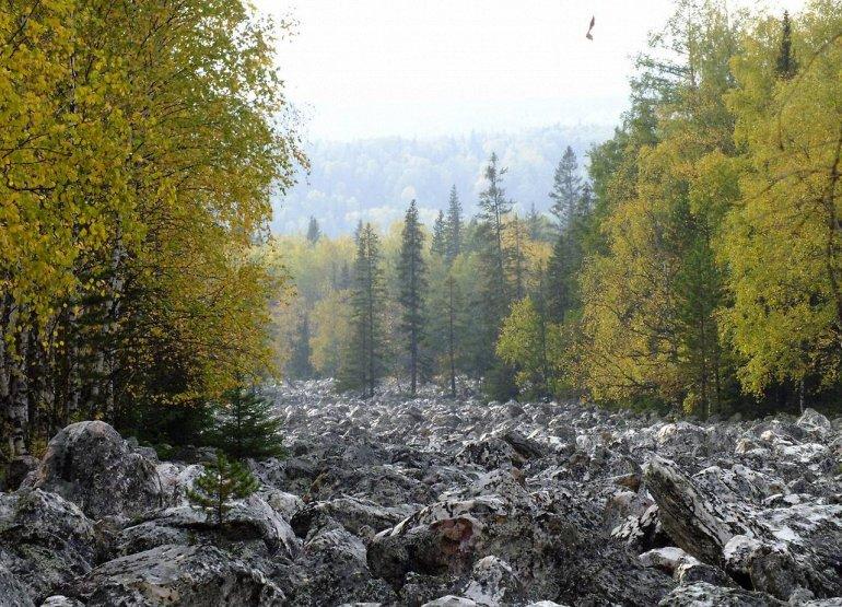 Տագանակի քարե լիճը Ռուսաստանում