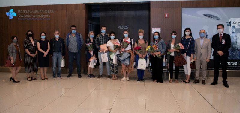 Ֆրանսիայից Հայաստան է ժամանել 9 հոգուց բաղկացած բժիշկների երկրորդ խումբը
