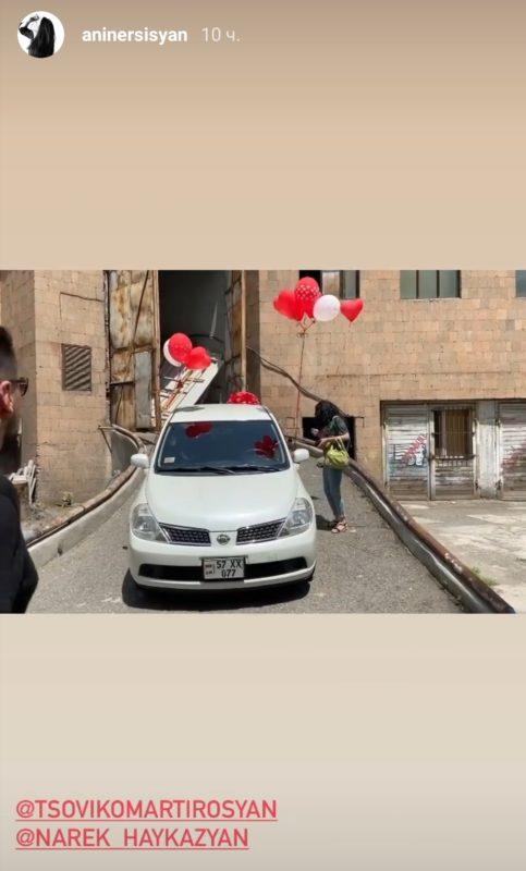 Ծովինար Մարտիրոսյանը շքեղ նվեր-անակնկալ է ստացել ամուսնուց՝ Նարեկ Հայկազյանից