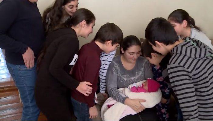 Բեժանյանները 12 երեխա ունեն ու ցանկանում են էլի ունենալ