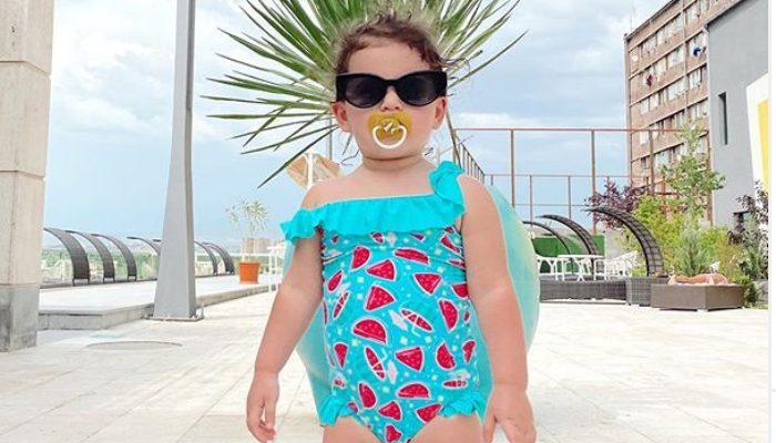 Սոս Ջանիբեկյանի հրաշք դստրիկի լուսանկարները