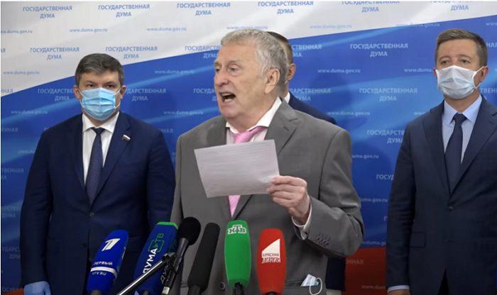 Ժիրինովսկին՝ «Ֆուդ սիթի»-ում իրավիճակի մասին․ Այստեղ տայգա չէ, որ պարտադրեք ձեր վայրի բարբարոս միջոցները
