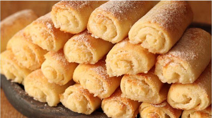 Հետաքրքիր միջուկով կաթնաշոռային անչափ համեղ թխվածքաբլիթներ, որոնք կգոհացնեն բոլոր համտեսողներին