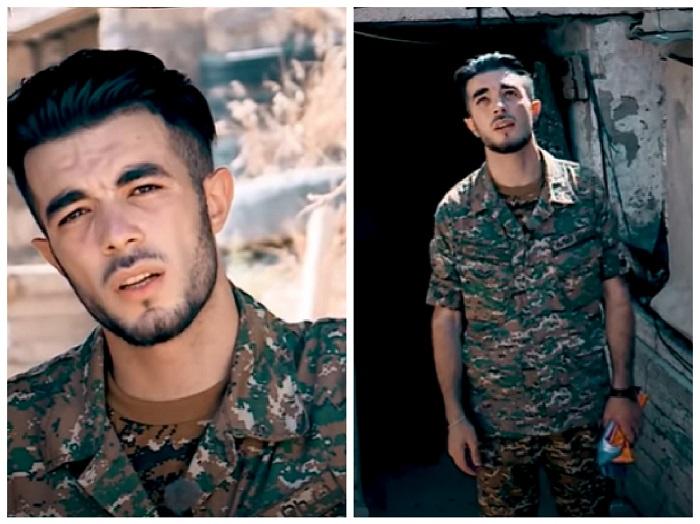 """""""Նահանջ չկա, մնալու եմ հայ քանի դեռ կամ..."""" հայ զինվորի գեղեցիկ կատարումը դիրքերից"""