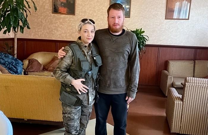 """""""Նա նախանձում էր իմ բաճկոնին..."""" Ելենա Բորիսենկոն Սիմյոն Պեգովի հետ լուսանկար է հրապարակել"""