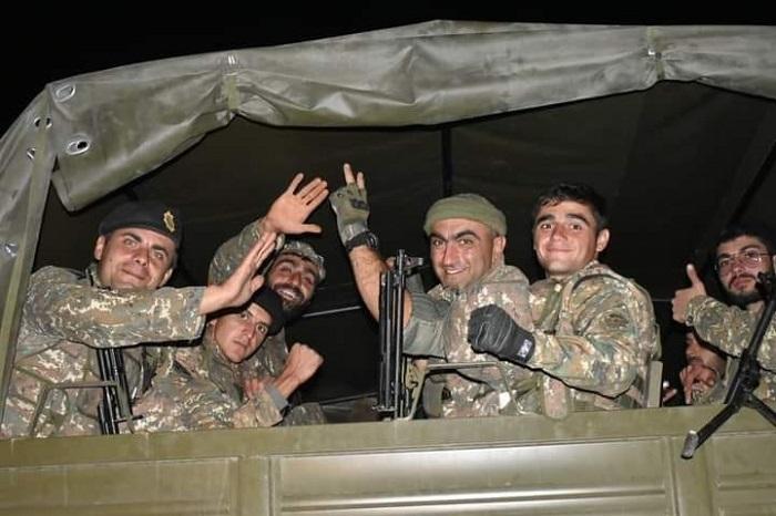 Ձեր ցավը տանեմ, հեսա սաղին չախ ենք տալու ու գանք տուն, բան չի մնացել. զինվորները՝ առաջնագծից