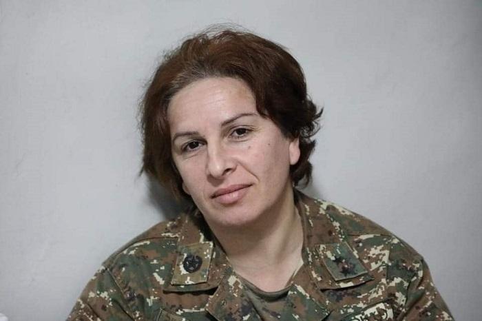 Հայ կանայք բանակում. լուսանկարներ Արցախից
