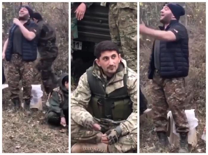 Ռազմիկ Ամյանն Արցախում է, զինծառայողների կողքին. նա «Հորովել» է երգում. ազդեցիկ ու հուզիչ տեսարան
