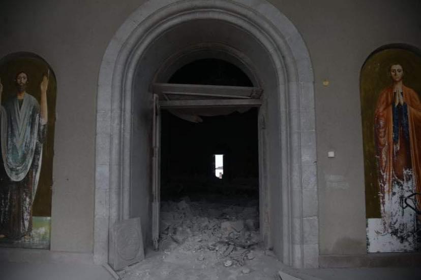 Ինչպես են ավերել Շուշիի Ղազանչեցոց եկեղեցին․ լուսանկար