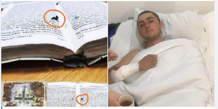 Հրաշք. ինչպե՞ս է Աստվածաշnւնչը փրկել զինվորի կյանքը